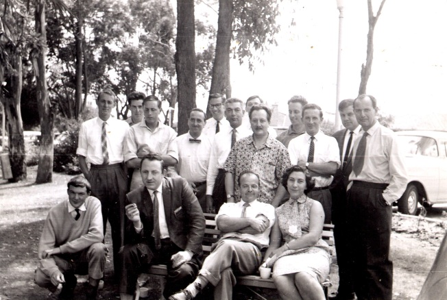 ABV2 staff 1961