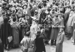 Crowds on Coronation day