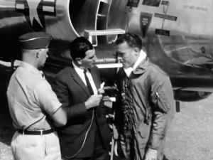 """Gerald Lyons interview pilot of U2 aircraft for """"Operation Crowflight"""" documentary."""